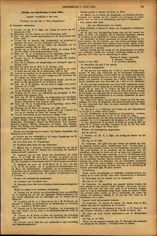 Handelingen van de Raad 1895-06-06