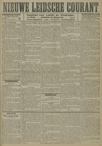 Nieuwe Leidsche Courant 1923-01-25