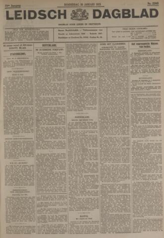 Leidsch Dagblad 1935-01-10