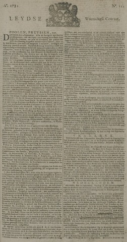 Leydse Courant 1734-09-15