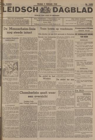 Leidsch Dagblad 1940-02-09