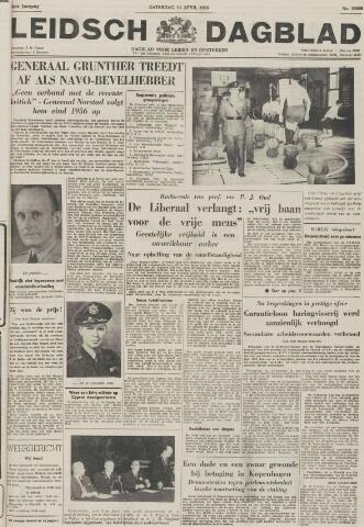 Leidsch Dagblad 1956-04-14