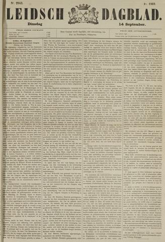 Leidsch Dagblad 1869-09-14