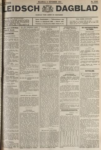 Leidsch Dagblad 1933-11-13