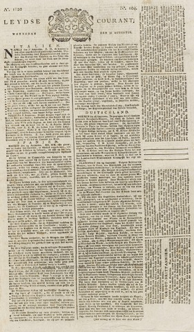 Leydse Courant 1820-08-30