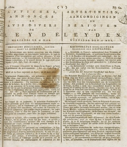 Leydse Courant 1812-05-27