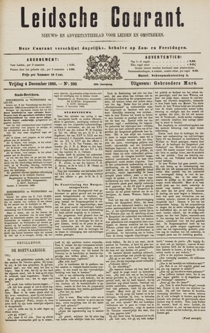 Leydse Courant 1885-12-04