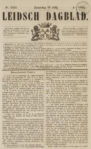 Leidsch Dagblad 1864-07-16