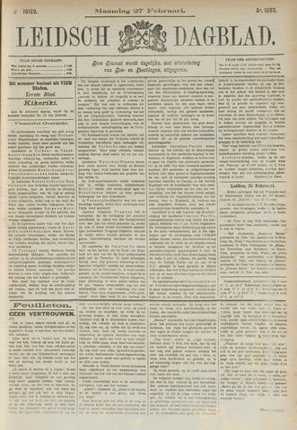 Leidsch Dagblad 1893-02-27