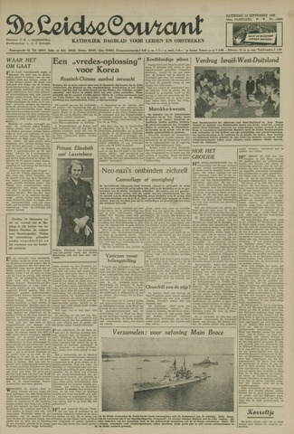 Leidse Courant 1952-09-13