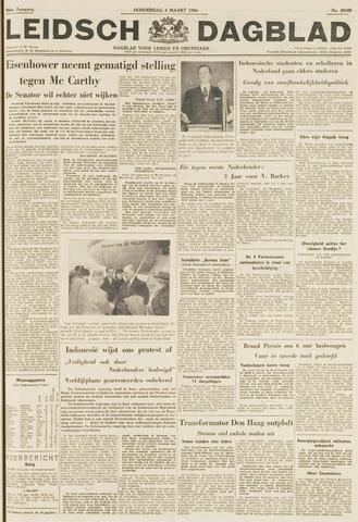 Leidsch Dagblad 1954-03-04