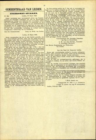 Handelingen van de Raad 1920-03-18