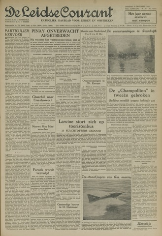Leidse Courant 1952-12-23