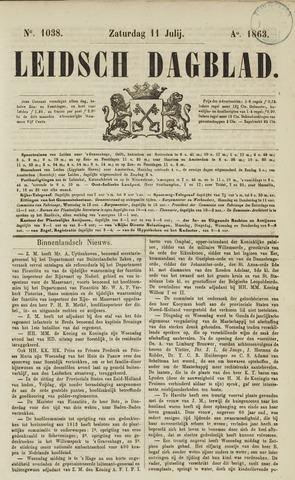 Leidsch Dagblad 1863-07-11