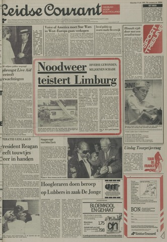 Leidse Courant 1985-07-15