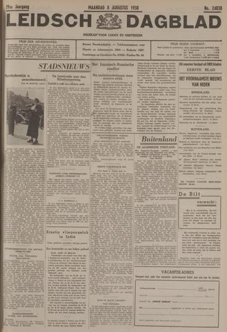 Leidsch Dagblad 1938-08-08