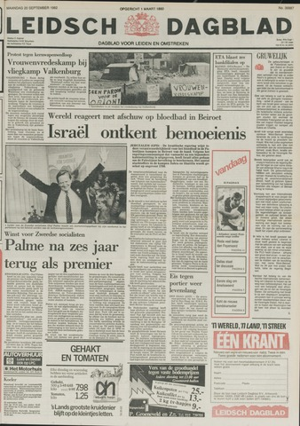 Leidsch Dagblad 1982-09-20