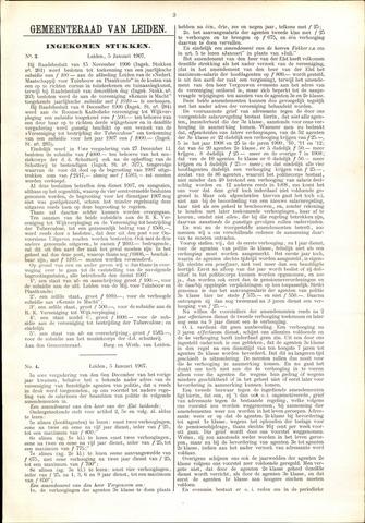 Handelingen van de Raad 1907-01-05