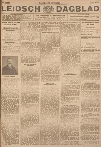 Leidsch Dagblad 1926-11-15