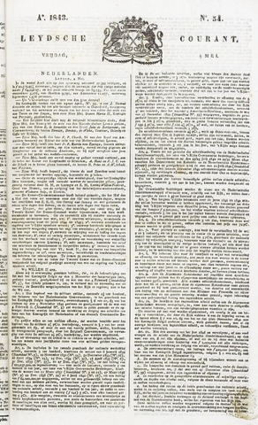 Leydse Courant 1843-05-05