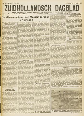 Zuidhollandsch Dagblad 1944-04-21