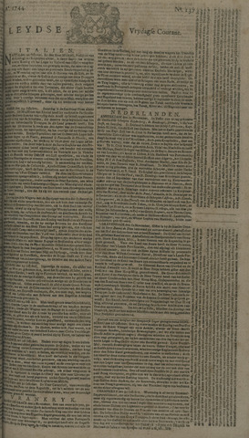 Leydse Courant 1744-11-13