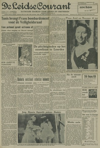 Leidse Courant 1958-02-12