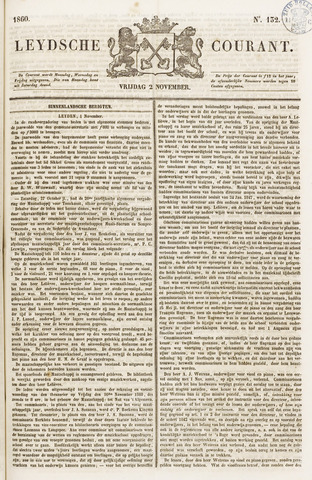 Leydse Courant 1860-11-02