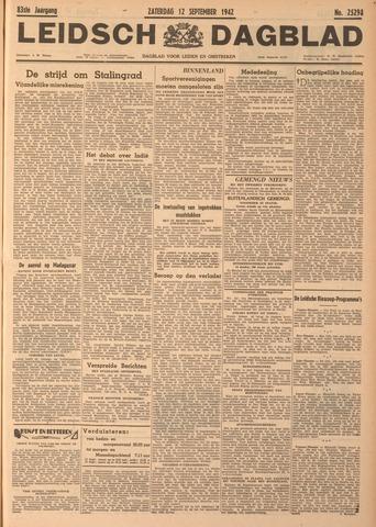 Leidsch Dagblad 1942-09-12