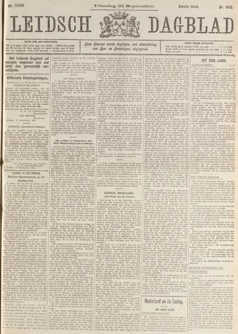 Leidsch Dagblad 1915-09-21