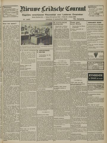 Nieuwe Leidsche Courant 1938-08-09