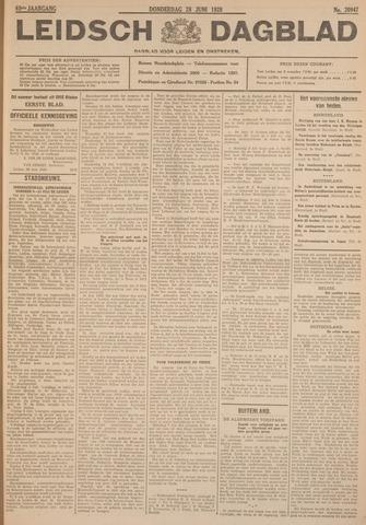 Leidsch Dagblad 1928-06-28
