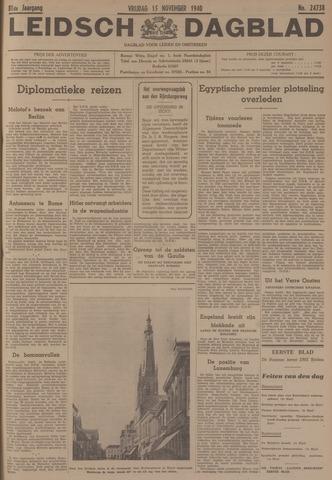 Leidsch Dagblad 1940-11-15