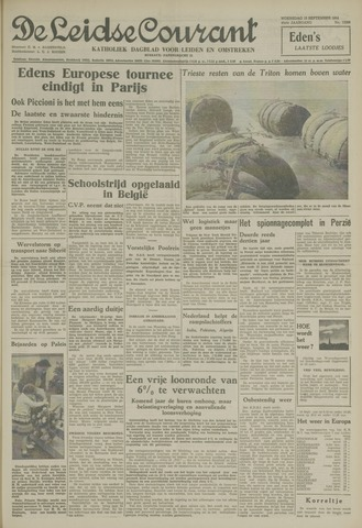 Leidse Courant 1954-09-15