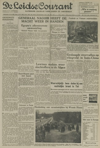 Leidse Courant 1954-03-09