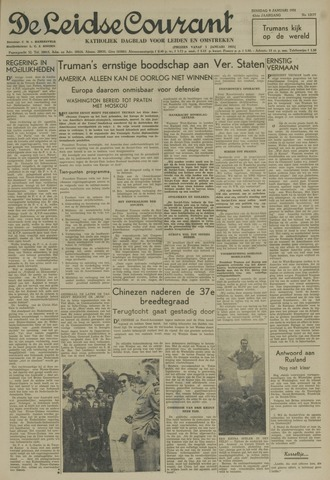 Leidse Courant 1951-01-09