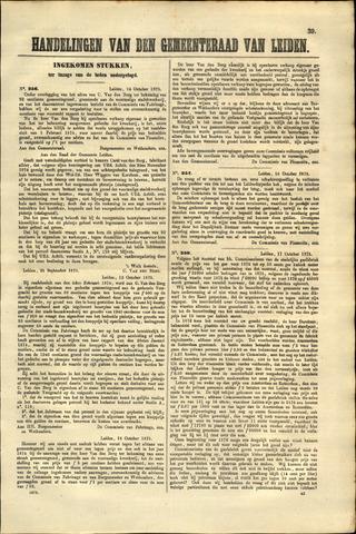Handelingen van de Raad 1875-10-14