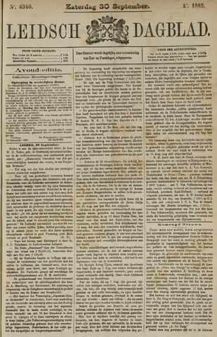 Leidsch Dagblad 1882-09-30