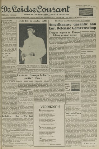 Leidse Courant 1954-04-17