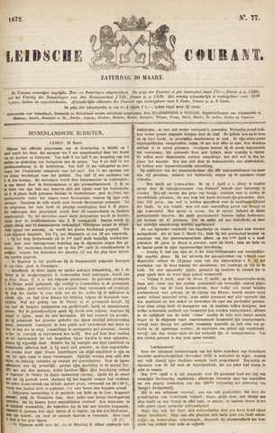 Leydse Courant 1872-03-30