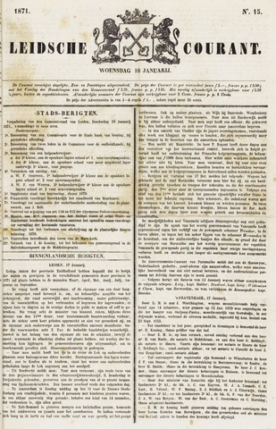 Leydse Courant 1871-01-18