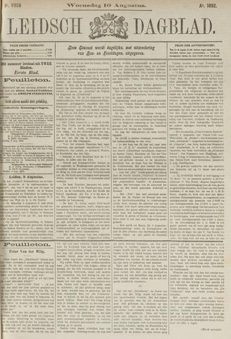 Leidsch Dagblad 1892-08-10