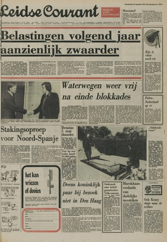 Leidse Courant 1975-08-28