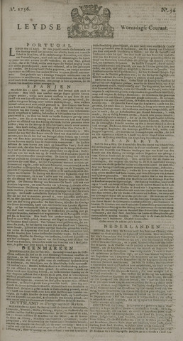 Leydse Courant 1736-05-09