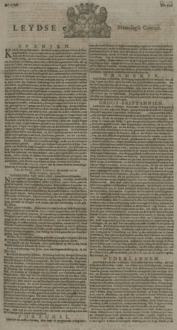 Leydse Courant 1726-10-21