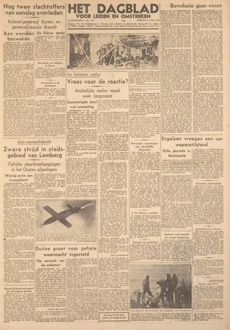 Dagblad voor Leiden en Omstreken 1944-07-25