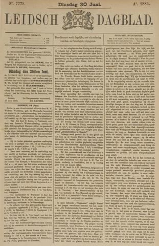 Leidsch Dagblad 1885-06-30
