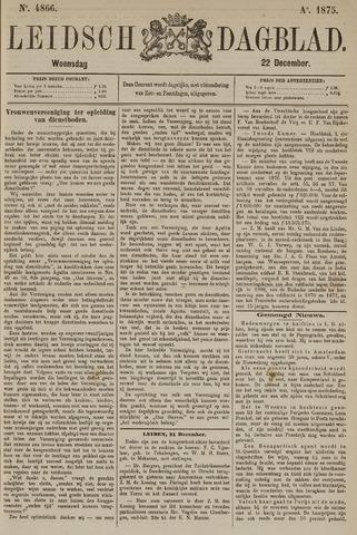 Leidsch Dagblad 1875-12-22