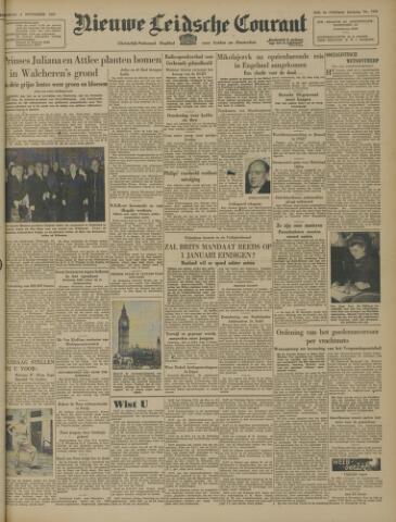 Nieuwe Leidsche Courant 1947-11-04