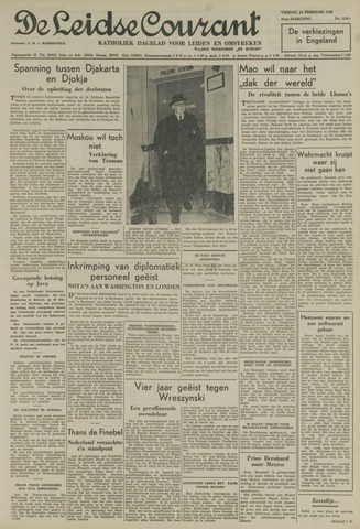 Leidse Courant 1950-02-24